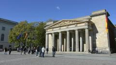 Neue Wache Museum in Berlin Stock Footage
