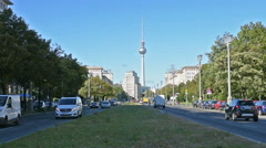 The Karl Marx Allee Stock Footage