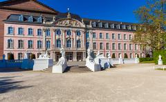 Baroque Kurfurstliches Palace, Trier Stock Photos