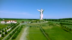 Poland Swiebodzin Jesus Christ Stock Footage