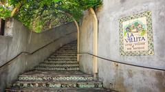 Steps at La Villita the Little Village of San Antonio Kuvituskuvat