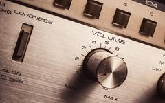 Volume And Loudness Control Stock Photos