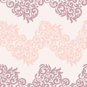 Filigree lace tracery in pastel colors. For wedding cards, invitation or Stock Illustration