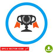 Award Cup Eps Rounded Icon Stock Illustration