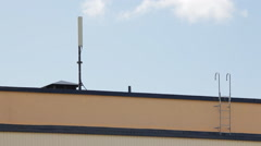 Mobile antenna Stock Footage