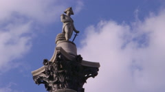 Nelsons Column Stock Footage