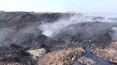 Ayn Issa, Syria, SDF - YPJ,YPG Rojava scene, oil field Stock Footage