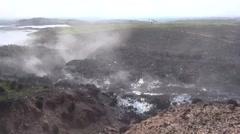 Ayn Issa, Syria, nature oil field, SDF - YPJ,YPG Rojava scene Stock Footage