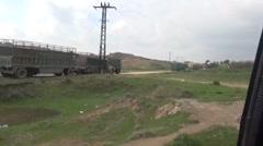 Ayn Issa, Syria, SDF - YPJ,YPG Rojava scene Stock Footage