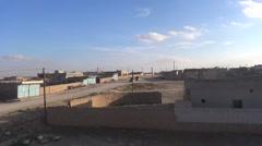 Syria, Kobani - February, 2016: View of the town Arkistovideo