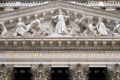 Detail of the New York Stock Exchange Kuvituskuvat
