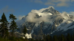Mt. Shuksan, North Cascades National Park, Washington Stock Footage