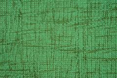 Green leather texture closeup, useful as background Stock Photos