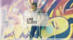 LineSlides Stock After Effects