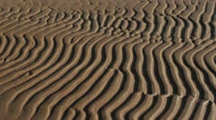 Abstract sand pattern Stock Footage