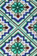 Ukrainian folk pattern ornament Stock Photos