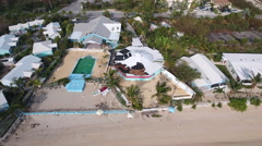 Hurricane Roof Damage Stock Footage