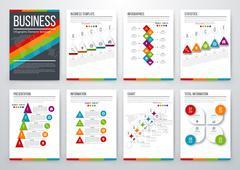 Modern infographic vector concept Stock Illustration