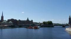 Stockholm -  Bridge Stock Footage