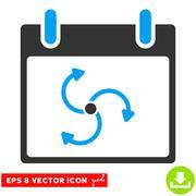 Cyclone Calendar Day Vector Eps Icon Stock Illustration
