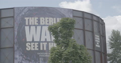 The Wall Museum - asisi Panorama Berlin - Berlin, Germany - 4K Stock Footage