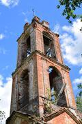 The old Church bell tower. Kuvituskuvat