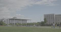 Paul-Löbe-Haus - Berlin, Germany - 4K Stock Footage