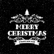 Wish you merry christmas Stock Illustration