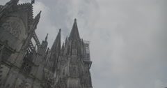 Cologne cathedral/Dom, Germany (Köln) - 4K Stock Footage