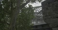 Hohenzollern Bridge / Hohenzollernbrücke - Cologne, Germany (Köln) - 4K Stock Footage