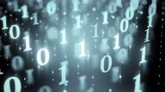 Computer Code data digital Background backdrop 8k Stock Footage