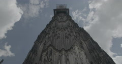 Looking Up at Cologne Cathedral - Cologne, Germany (Köln) - 4K Stock Footage