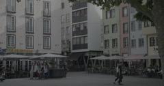 Old Town - Cologne, Germany (Köln) - 4K Stock Footage