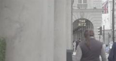 The Ritz - London, England - 4K Stock Footage