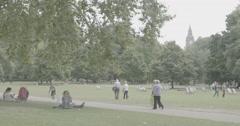 St. James' Park - London, England - 4K Stock Footage