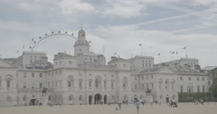 Horse Guards Parade - London, England - 4K Stock Footage