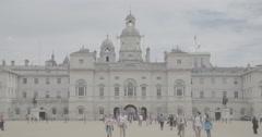Horse Guards Parade / London, England - 4K Stock Footage