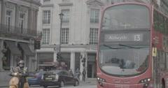 Traffic in London, England - 4K Stock Footage