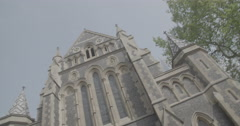 Southark Cathedral - London, England - 4K Stock Footage
