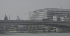 London Bridge, England - 4K Stock Footage
