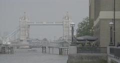 Tower Bridge / London, England - 4K Stock Footage