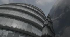 City Hall - London, England - 4K Stock Footage