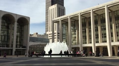 NEW YORK CITY: Lincoln Center for the Performing Arts at dusk, with Stock Footage