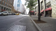 NEW YORK CITY, UNION SQUARE / CHELSEA  - 4K DX POV GoPro Biking Driving Stock Footage