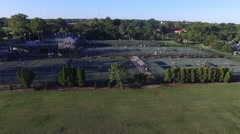 Tennis Courts Stock Footage