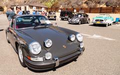 Silver 1973 Porsche 911 Kuvituskuvat