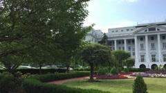 WHITE SULPHUR SPRINGS, WEST VIRGINIA: Exterior DX establishing shot Stock Footage