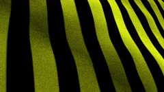 Yellow and Black, Textile Carpet Background, Still Camera, Loop, 4k Stock Footage