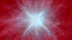 4k Abstract power explosion energy halo fire rays laser vortex background. Stock Footage