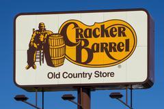 Cracker Barrel Restaurant Sign and Logo Kuvituskuvat